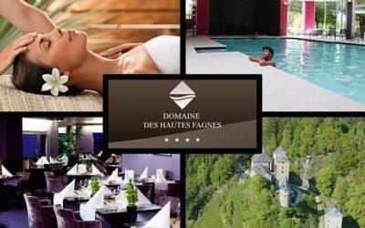 Un grand Merci au Domaine des Hautes Fagnes (hôtel 4****)