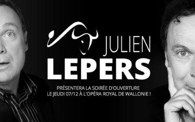 Julien Lepers présentera la cérémonie d'ouverture !