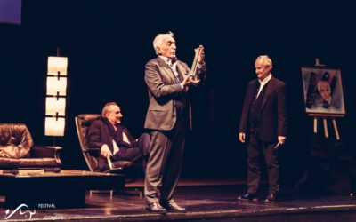 Gérard Darmon reçoit la Frite de Cristal