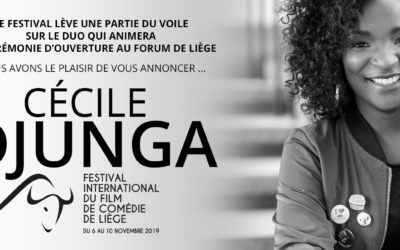 Cécile Djunga will present the Opening Gala!