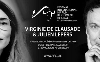 Virginie de Clausade et Julien Lepers présenteront la soirée de remise des prix