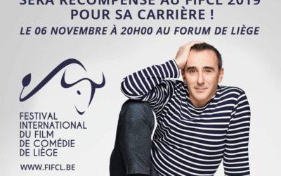 Elie Semoun recevra le Crystal Comedy Award au FIFCL 2019 !