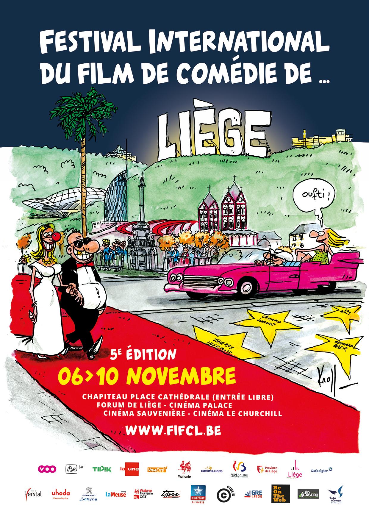 Affiche FIFCL 2017